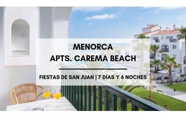 Menorca apartamentos baratos Carema Beach  ·  Sant Joan  · Ciutadella