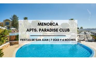 Menorca apartamentos baratos Paradise Club · Sant Joan  · Ciutadella