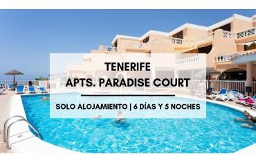 Tenerife apartamentos baratos Paradise Court  ·  Costa Adeje
