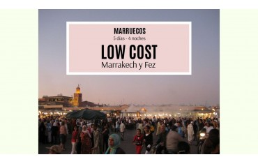 RUTA MARRUECOS MARRAKECH Y FEZ  LOW COST