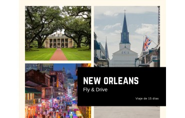 New Orleans Fly & Drive